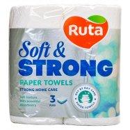 Полотенце бум Soft&Strong 3-сл Ruta 2шт - Фото