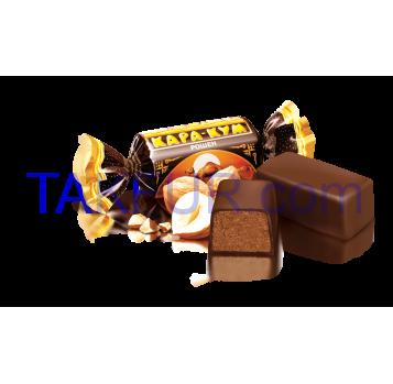 Конфеты глазированные шоколадной глазурью Roshen Кара-Кум - Фото