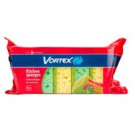 Губки Vortex кухонные 5шт - Фото