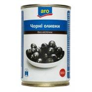 АRО ОЛИВ ЧОРНІ Б/К 300 МЛ - Фото