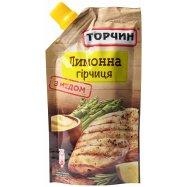 ТОРЧИН ГІРЧИЦЯ ЛИМОННА 115Г - Фото