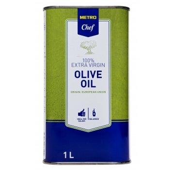 Масло Metro Chef оливковое нерафинирован первого отжима 1л - Фото