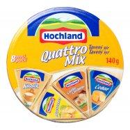 Сыр Hochlald Quattro Mix плавл 8шт 140г - Фото