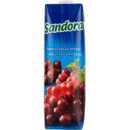Нектар Sandora Виногр красн 0,95л - Фото