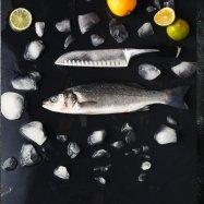 Сибас охлажденный (300-400 грам) - Фото