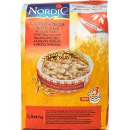 Хлопья Nordic 4 зернов быстр приг 1,5кг - Фото
