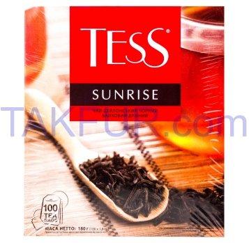 Чай Tess Sunrise байховый черный 1,8г*100шт 180г - Фото