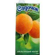 Нектар Садочок Апельсиновый 0,95л - Фото