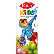 Нектар Rich Kids Яблоко виноград 0,2л - Фото