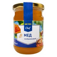 Мед натурал подсолнечный Metro Chef 350г - Фото