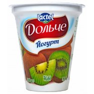 Йогурт Lactel Дольч Киви 3,2% 280г - Фото