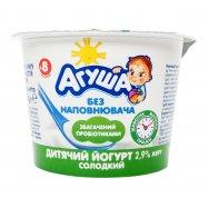 Йогурт Сладкий д/дет от 8 мес Агуша 90г - Фото