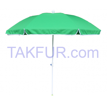 Зонт пляжный Aro Terni зеленый 200см - Фото