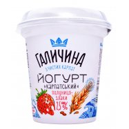 Йогурт Галич Клубн-злаки 2,5% 280г - Фото