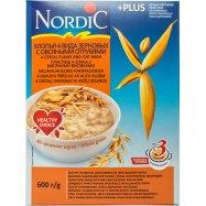 Хлопья Nordic 4 вид зер с овс отр 600г - Фото