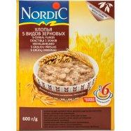 Хлопья Nordic 5 видов зерновых 600г - Фото
