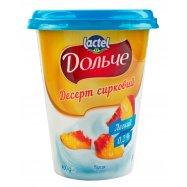 Десерт творожн Дольче Персик 400г - Фото