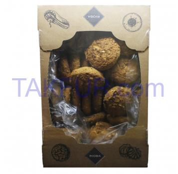 Печенье Rioba Мюсли с отрубями 1.25кг - Фото