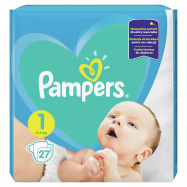Подгузники Pampers Newborn 2-5кг 27шт - Фото