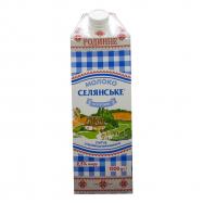 Молоко Селян Особое Сем 2,5% 1500г - Фото