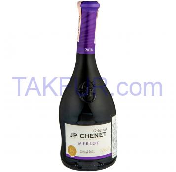 Вино J.P. Chenet Merlot красное сухое 13% 0,75л - Фото