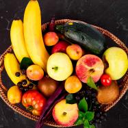 Сезонный фруктовый набор оптимальный - Фото