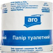 Бумага туалетная ARO с макулат 1шт - Фото