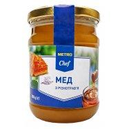 Мед нату с разнотравья Metro Chef 350г - Фото