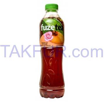 Напиток Fuzetea Чай черный со вкусом персика и розы 1л - Фото