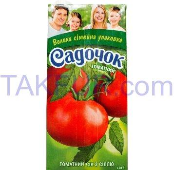 Сок Садочок томатный с солью 1.93л - Фото