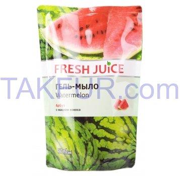 Гель-мыло Fresh Juice Арбуз дойпак 460мл - Фото