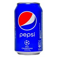 Напиток Pepsi б/а сильно/газ 0,33л - Фото