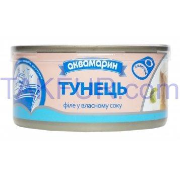 АКВА ТУНЕЦЬ ФІЛЕ В/С,185 Г - Фото