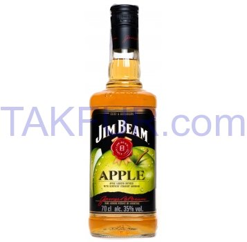 Ликер Jim Beam Apple 35% 0,7л - Фото