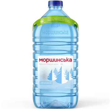 Вода минеральная Моршинська негазированная 6л - Фото