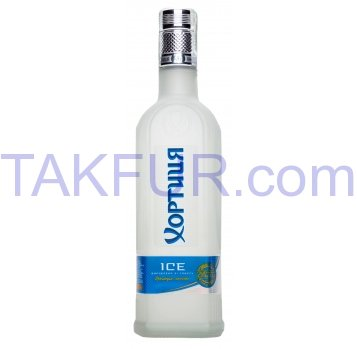 Водка Хортиця Ice 40% 0,5дм3 - Фото