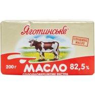 Масло Яготинськ сл/слив єкстр 82,5% 200г - Фото