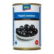 АRО ОЛИВ ЧОРНІ З/К 314 МЛ - Фото