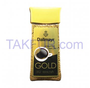 Кофе Dallmayr Gold растворимый сублимированный 200г - Фото
