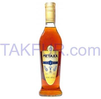 Напиток алкогольный Metaxa 7 звезд 40% 0,5л - Фото