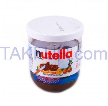 Паста Nutella ореховая с какао 200мл - Фото