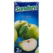 Сок Sandora Яблочный 2л - Фото
