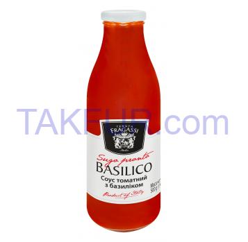 Соус Tenuta Fragassi томатный с базиликом 500г - Фото