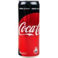 Напиток Coca-Cola Zero ж/б 0,33л - Фото