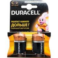 Элемент пит Duracell щелочной C 1.5V 2шт - Фото