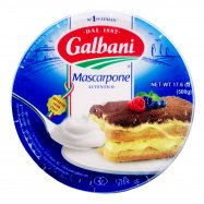 Сыр Galbani Mascarpone 80% 500г - Фото