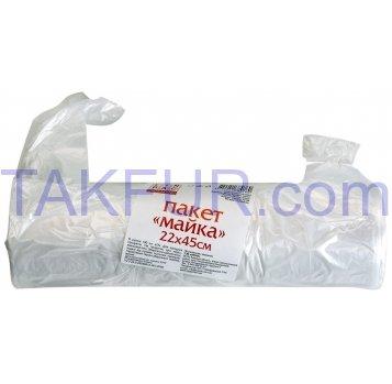 Пакеты Linpac Майка 22*45см 190шт - Фото