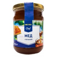 Мед натуральн гречишный Metro Chef 350г - Фото