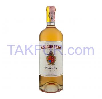 Вино Borgobruno Toscana Rosato розовое полусухое 12.5% 0.75л - Фото