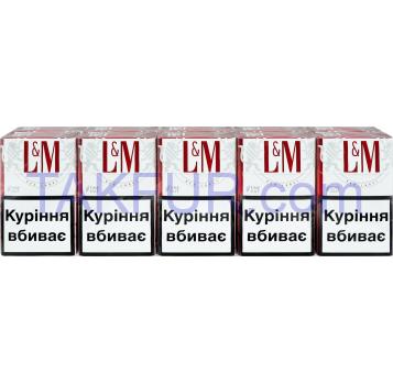 Сигареты L&M Red Label 20шт/уп - Фото